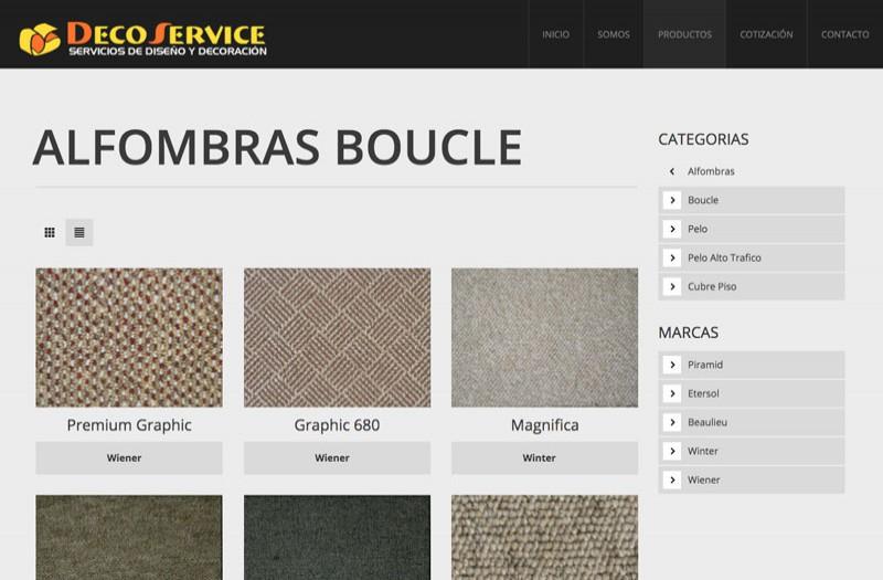 Deco Service - WDesign - Diseño Web Profesional