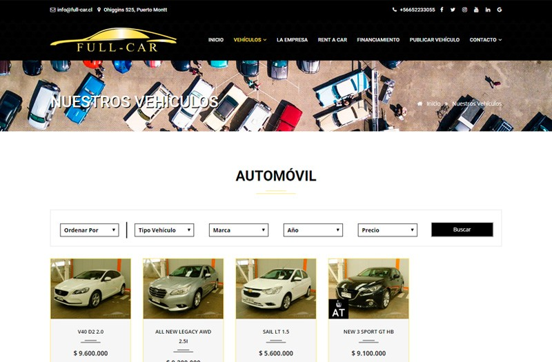 FULL-CAR - WDesign - Diseño Web Profesional