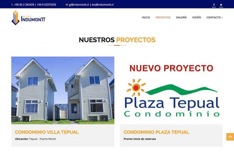 Indumontt - WDesign - Diseño Web Profesional