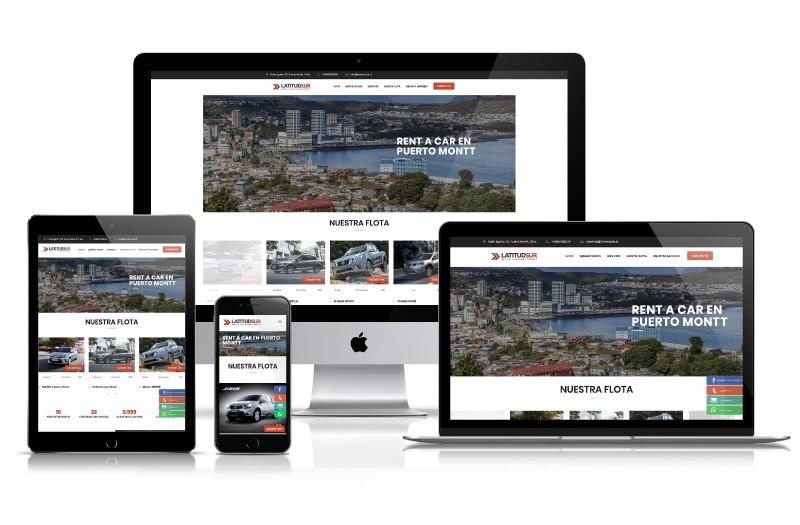 Latitud Sur - WDesign - Diseño Web Profesional