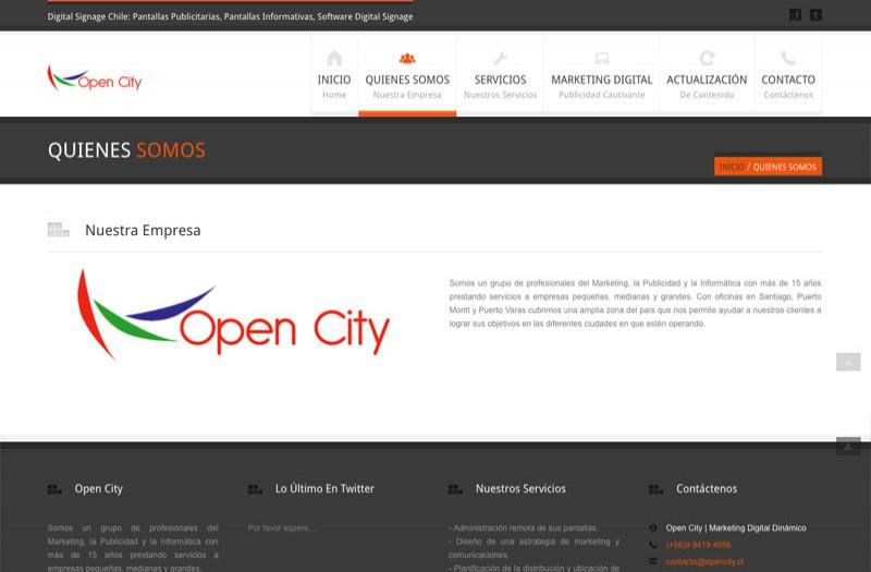 Opencity - WDesign - Diseño Web Profesional