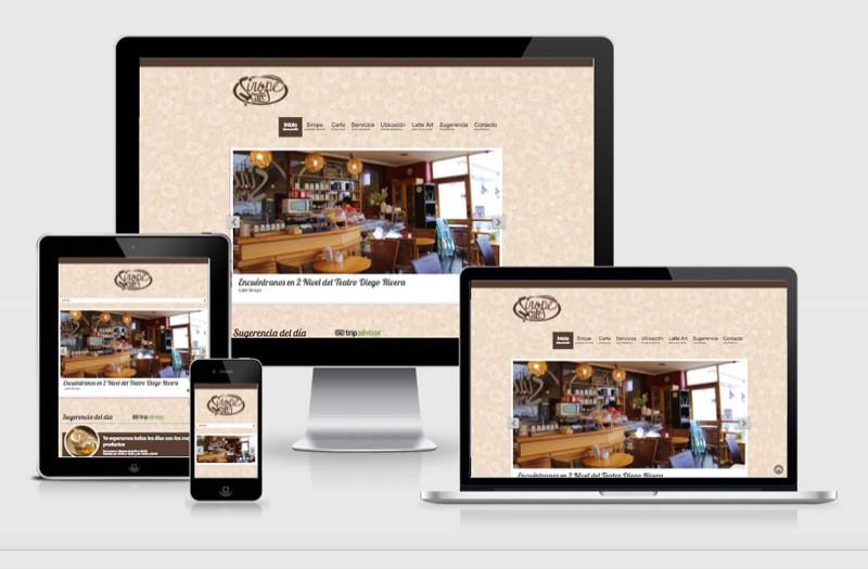 Sirope Café - WDesign - Diseño Web Profesional